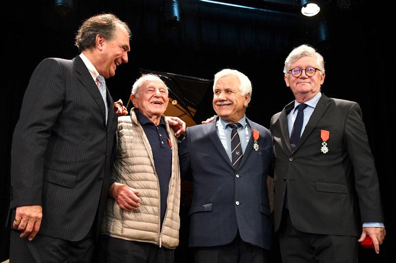 Jean Philippe Darnault, Michel Klein, Joaquin Romero, Patrick Beaudouin